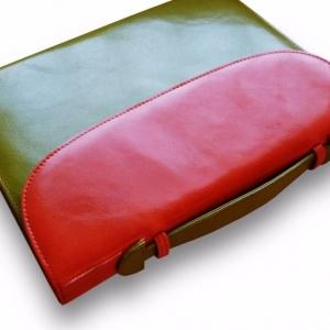 Двухцветный портфель-папка
