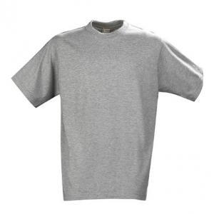 Серая футболка прямого силуэта