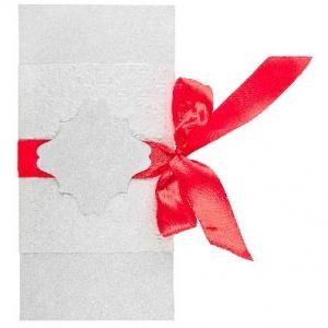 Открытка из дизайнерской бумаги