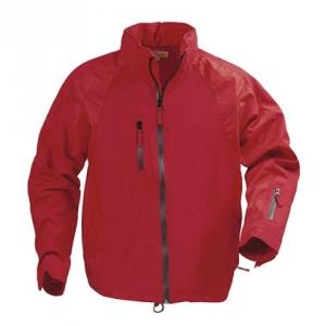 Красная куртка на молнии с карманом