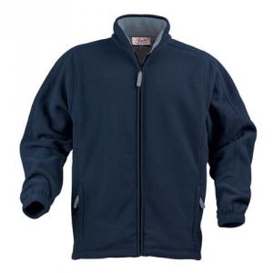 Флисовая куртка с карманами на молнии