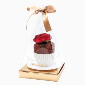 Шоколадный бисквит из махрового полотенца