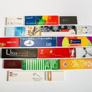 Корпоративные цветные карандаши в индивидуальной упаковке