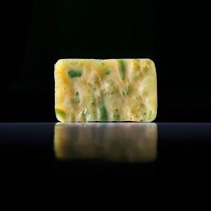 Мыло с овсяными хлопьями и эфирным маслом лайма